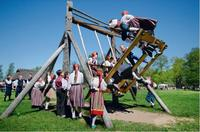 Easter and spring fair at the Open Air Museum