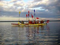 Sea-kayaking trips during Viru Folk festival