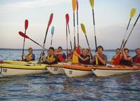 Kayaking trips to Aegna, Mohni and Kolga Bay in August